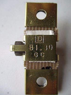 Square D, B1.30 Thermal Overload Relay Heater Element NEW, FREE SHIPPING $17B$