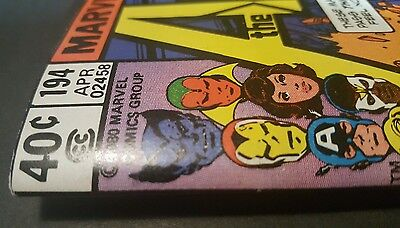 """AVENGERS 194 NM-WHITE PAGES """"Hilltop Pedigree Collection.""""  1977"""