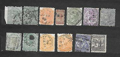 SOUTH AUSTRALIA   lot lotto 13 stamps USATI