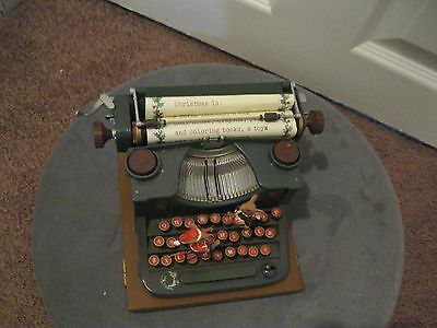 Vintage Enesco Typewriter Music Box For Repairs Missing Parts