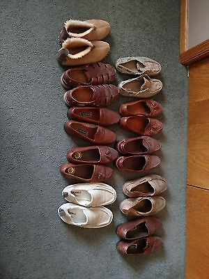 One Lot Of Mens Shoes 9.5 D