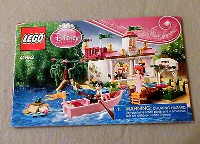 LEGO Disney Instruction Manual Booklet Only 41052 Princess Ariel's Magical Kiss