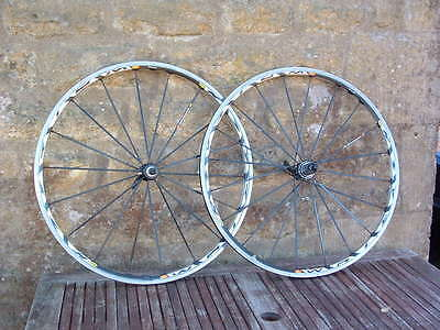 Mavic Ksyrium SL SSC Wheels Wheelset in Black, Shimano or Campagnolo Fit, 700c
