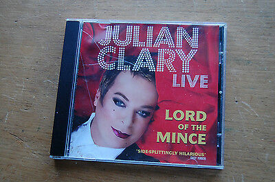 Julian Clary Live. Lord on the Mince. Comedy CD.