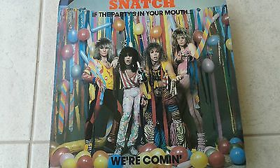 Snatch-If The Party's In Your Mouth... We're Comin Lp Very Rare Aor Us Metal