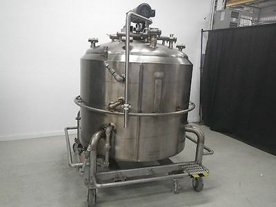 2000L Cherry-Burrell Jacketed Tank With Mixer
