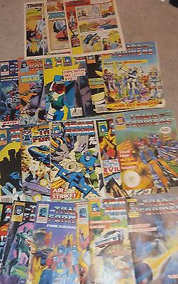 21 vintage transformers + 3 action force comics (4 without cover)