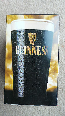 Drink Me Lewis Carroll Guinness Glass In Box