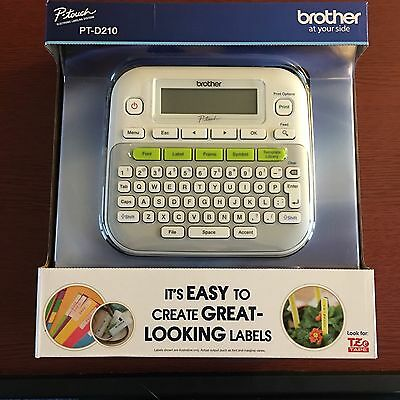 brother label printer templates - p touch brothers pt 65 home hobby label maker cad 16