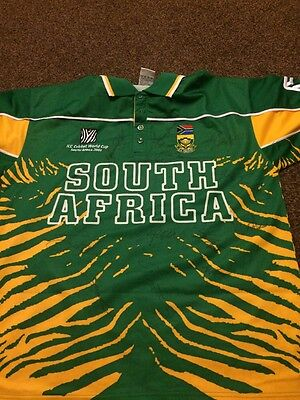 Cricket, South Africa, Squad Signed Shirt, World Cup 2003