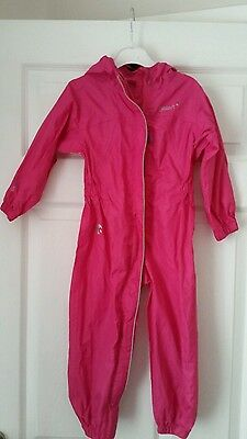 Gelert puddle suit tapered seams age 2-3