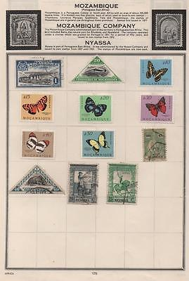 MOZAMBIQUE: Used and Unused Examples - Ex-Old Time Collection - Page (5312)