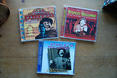 Stanley Holloway CD comedy collection