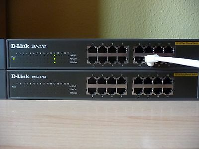Switch D-Link DES-1016D
