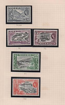 NIGERIA: Unused Examples - Ex-Old Time Collection - Album Page (4931)