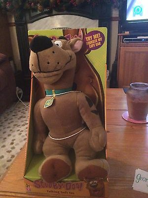 Scooby Doo Talking Soft Toy. Unused And In Box