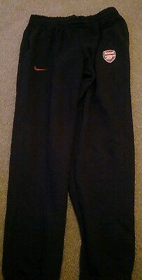 Arsenal Football Club Tracksuit Trousers - Size Medium