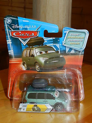 Disney Pixar Cars Final Lap Lenticular #124 Van With Stickers Chase Diecast 2010