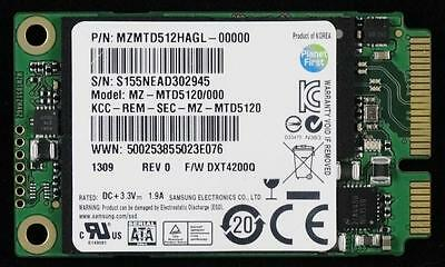 SAMSUNG PM851 SSD 512GB mSATA 3.0 6Gbps Solid State Drive For PC Laptop