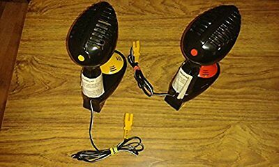 2 X MICRO SCALEXTRIC red and yellow MEGA SOUND THROTTLES. Vintage.