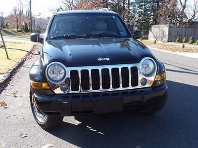 2005 Jeep Liberty 4dr Limited 4WD Only 70k 3.7 Ltd Black one owner, all records,fully loaded,must see NO RESERVE