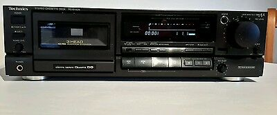 Technics rs -bx626 stereo 3 head cassette player