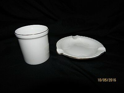 SHELLEY Personal Ashtray and Cigarette  Holder