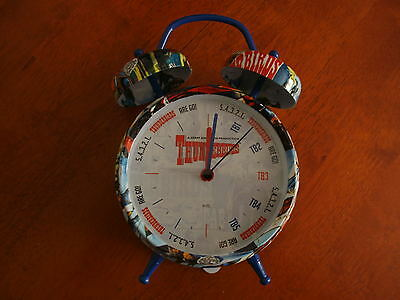 Gerry Anderson's Thunderbirds-Alarm Clock-New & Boxed-Fully Tested.