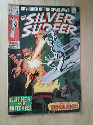 Silver Surfer #12,1970 , VG++ / FN- , cents