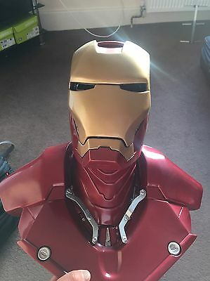 ironman 1/1 scale bust Fully Painted