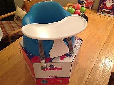 Bumbo Seat With Play Tray And Original Box