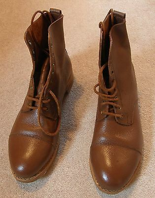 Reproduction WW1/2 British Officers Leather Ankle Boots