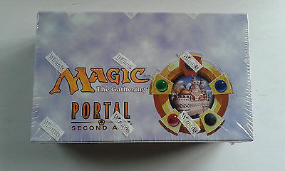 MTG Portal 2 - SECOND AGE - 36ct Factory Sealed Booster Box (English) VERY RARE