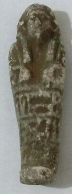 Egyptian Antique, USHABTI Amulet Faience
