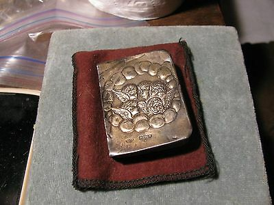 Antique Miniature Sterling Silver Bible**sweet**