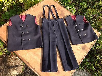 Vintage Children's Clothes 2 Waistcoats 1 Trousers Kidokay Paris France French