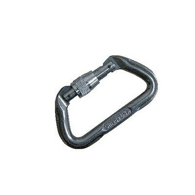 5ive Star Gear 6003000 Anodized Aluminum 7000 Series Carabiner Silver Screw-Lok