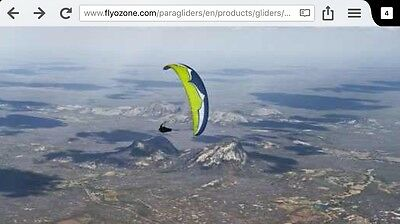 Ozone Lightweight Paraglider, Harness And Reserve