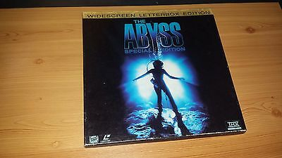 The Abyss Widescreen Letterbox Collectors Edition. LASERDISC. Boxed. NTSC.