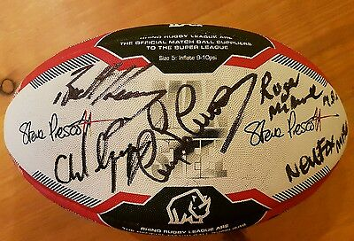 Rugby League Ball Autographed