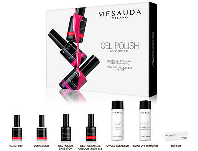 Mesauda Starter Kit Gel Polish Semipermanente Per Unghie Professionale Uv E Led