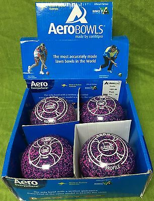 Aero Groove Bowls Purple Size 5H Stamped WB 23