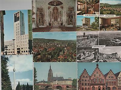 collection 16 UNUSED POST CARDS OF SWISS, GERMAN, ALPINE #31