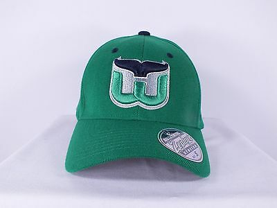 Hartford Whalers Nhl Adult Sizes S, Xl Flex/ Fitted Cap Hat (H-44)