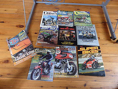 Motorcycle Books And Mags