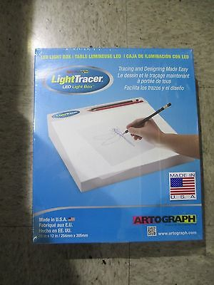 "NEW IN BOX! Artograph LightTracer LIGHT BOX, 10"" x12"" - FREE SHIPPING"