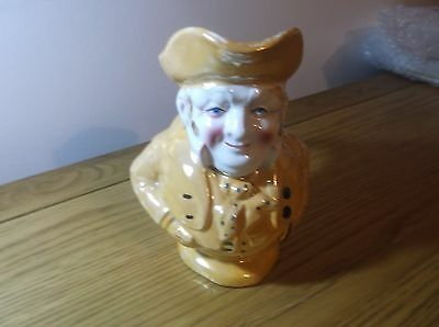 Really lovely Luster Character Jug rosy cheeked stout gentleman 7ins/18cm