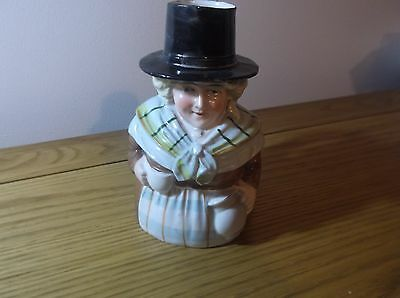 Really lovely Character Jug Welsh Woman with cup and jug