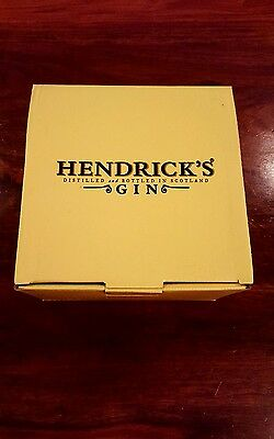 Hendrick's Gin Cup & Saucer Collector's Item