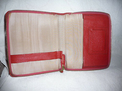 Writing case (red)